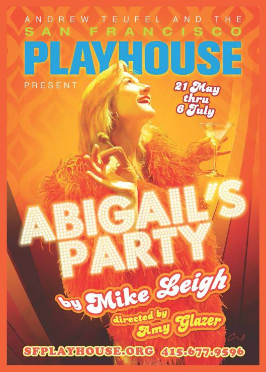 SF Playhouse - Abigail's Party poster