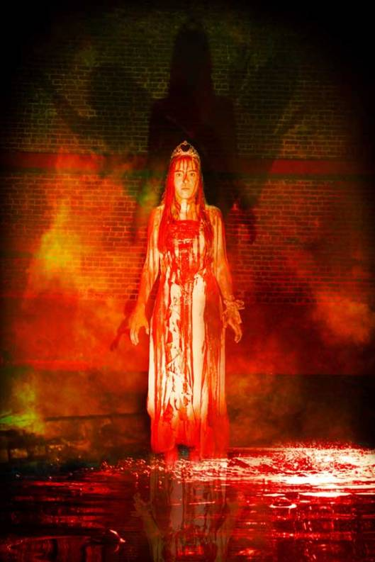 Cristina Ann Oeschger as Carrie White in Carrie: The Musical for Ray of Light