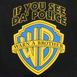 Warn-a-Brother t-shirt