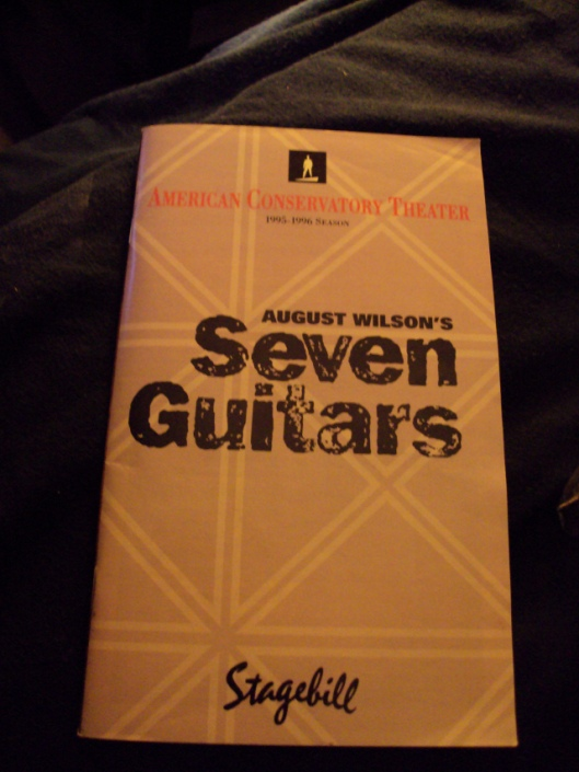 Seven Guitars programme