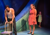 Luke (Will Giammona), Jess (Dana Zook), Morgan (Mattea Fountain). Photo by Lois Tema