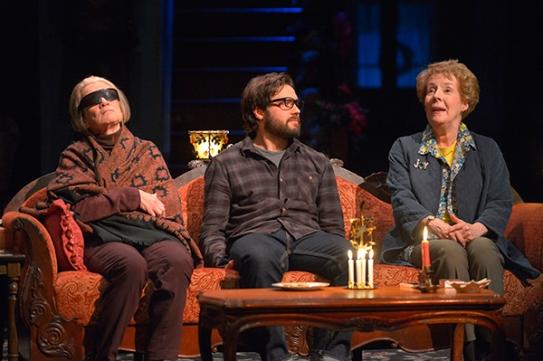 Genevieve (Ann McDonough), Eli (Joe Paulik), Mertis (Georgia Engel)Photo by Kevin Berne