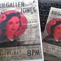 Kilgallen – Jones programme and postcard