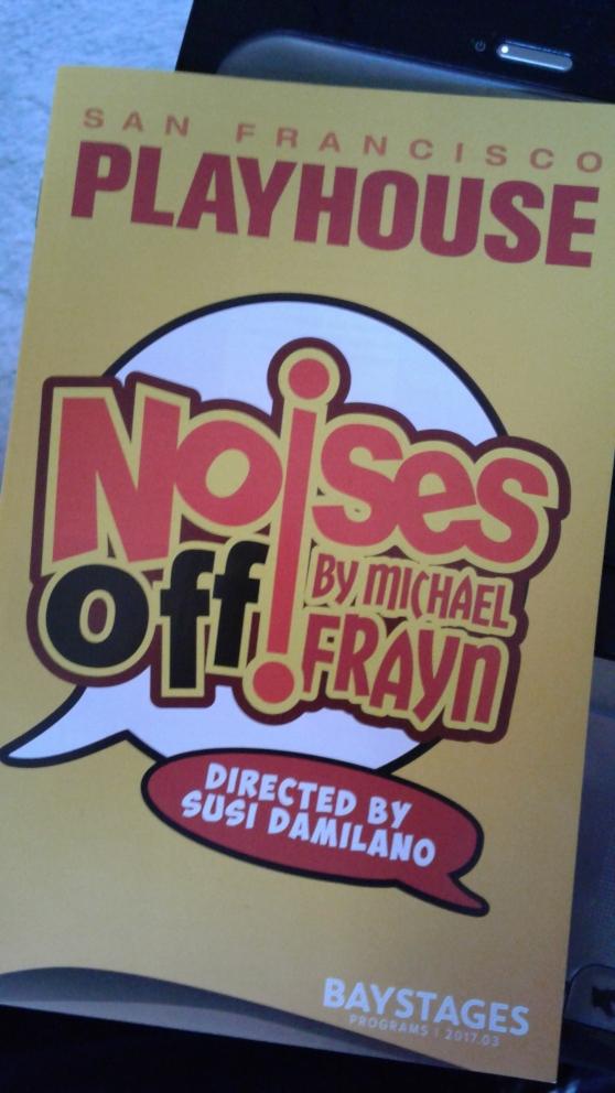 Noises Off! programme