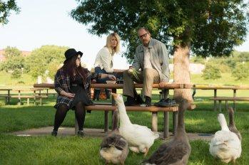Isabella Amara, Laura Dern, Woody Harrelson. Photo by Wilson Webb