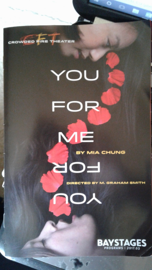 You for Me for You - programme