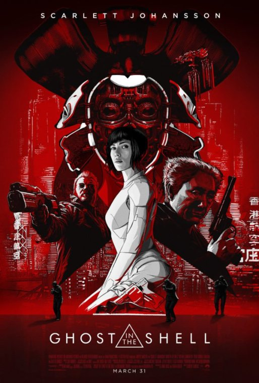 Ghost in the Shell (US live action) poster