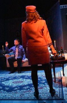 Marty (Casey Robbins) and Jackie (Caitlin Evenson). Photo by Jay Yamada
