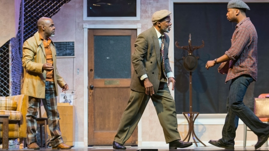 Turnbo (ShawnJ West), Becker (L. Peter Callender), Youngblood (Edward Neville Ewell). Photo by Lance Huntley