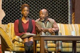 Rena (Jemier Jenkins) and Turnbo (ShawnJ West). Photo by Lance Huntley