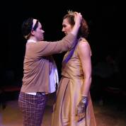 Oenone (Karen Offereins) and Phèdre (Courtney Walsh). Photo by Liz Olson.