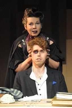 Marzanna (Genevieve Perdue) and Kai (Max Seijas). Photo by Alandra Hileman