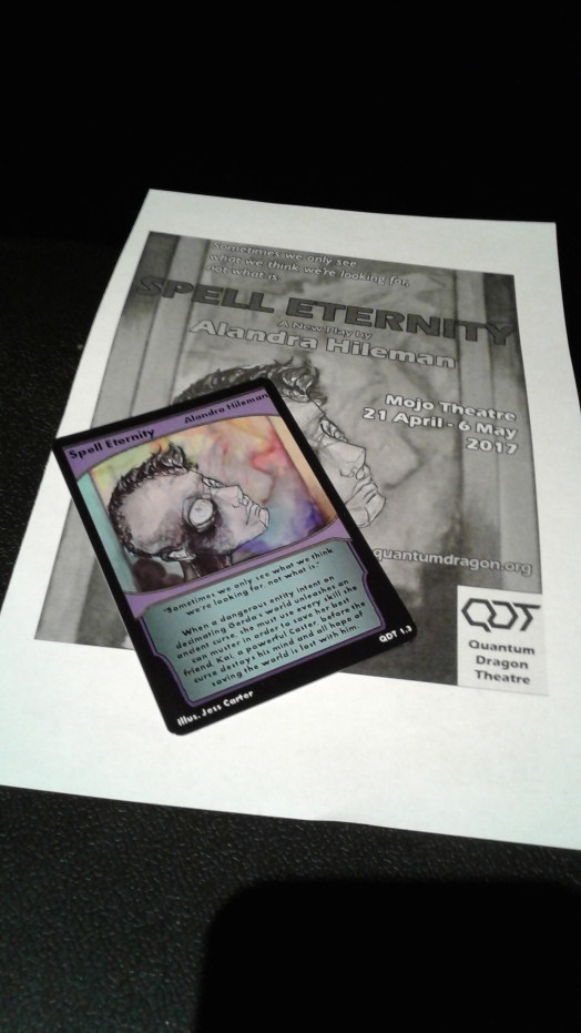 Spell Eternity programme & card