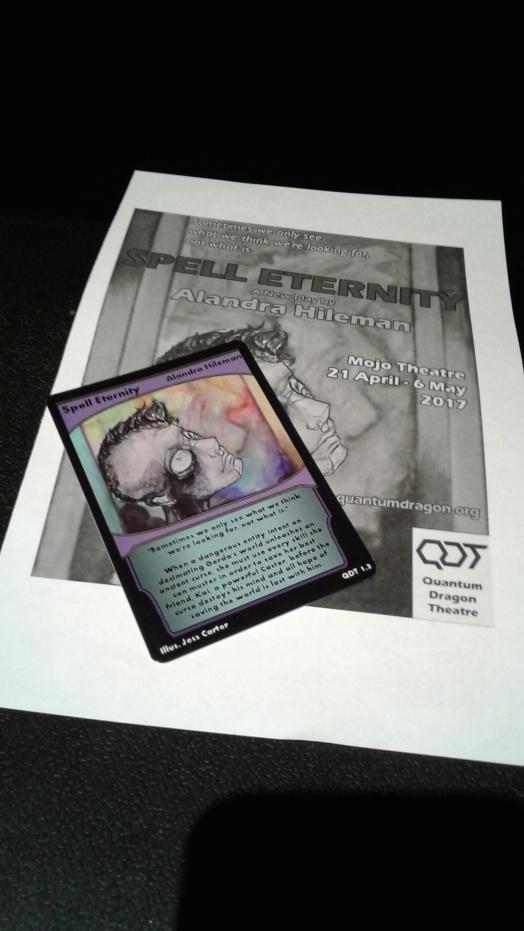 Spell Eternity programme & card