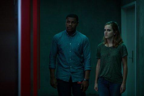Ty Lafitte (John Boyega) and Mae Holland (Emma Watson). Frank Masi for STX Entertainment