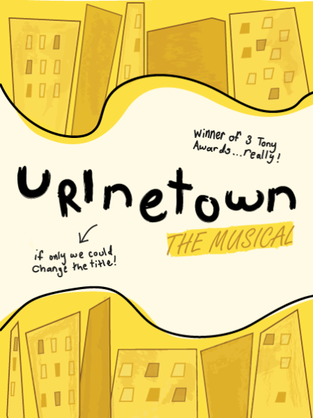 Urinetown at Berkeley Playhouse - poster