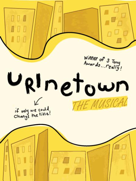 Urinetown at Berkeley Playhouse - poster