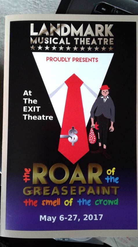 Roar of the Greasepaint - Landmark at EXIT programme