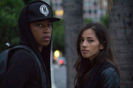 Bo (Jacob Latimore) and Holly (Seychelle Gabriel). Diablo Entertainment