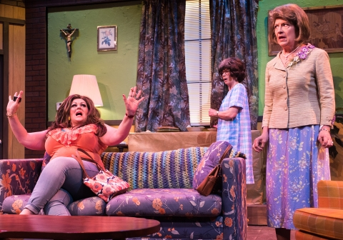 LaVonda (Catherine Luedtke), Sissy (Michaela Greeley), Latrelle (Marie O'Donnell). Photo by Lois Tema.