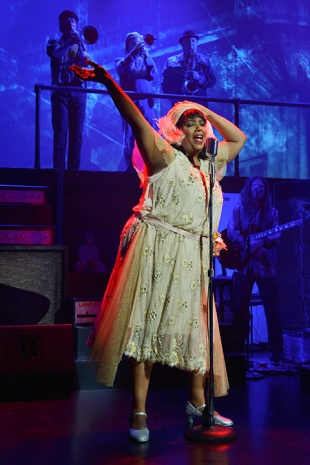 Sylvia MacCalla as Bessie Smith. Photo by Kevin Berne.