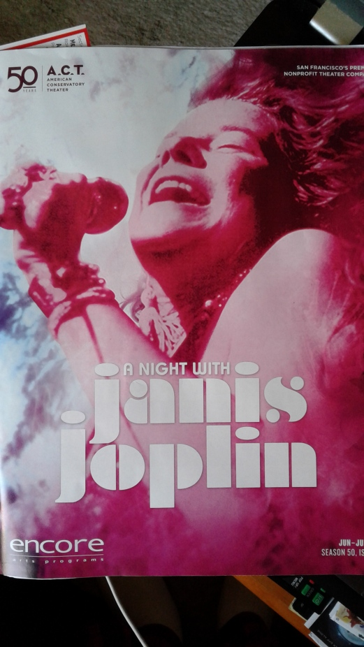 A Night with Janis Joplin at ACT programme