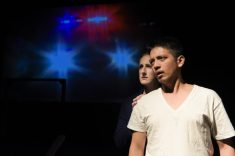 Jen (Caitlin Evenson) and Jason (Louel Señores). Photo by Alessanra Mello.
