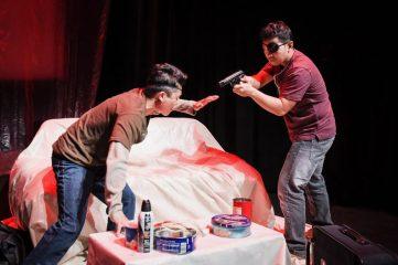Kano (Jed Parsario) and Abe (Melvign Badiola). Photo by Alessandra Mello.