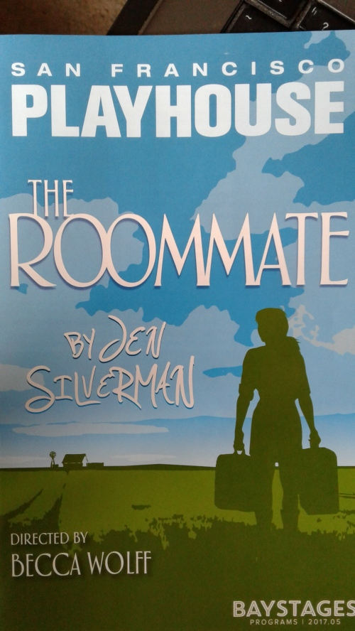 Roommate at SF Playhouse programme