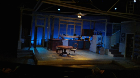 Roommate at SF Playhouse set