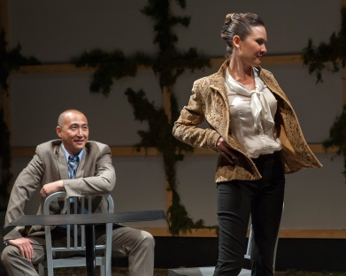 Daniel (Don Castro) and Samantha (Charisse Loriaux). Photo by Ken Levin.