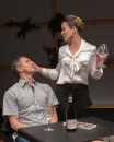 Ben (James Asher) and Samantha (Charisse Loriaux). Photo by Ken Levin.