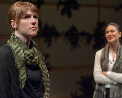 Lindsey (Lauren English) and Samantha (Charisse Loriuax). Photo by Ken Levin.