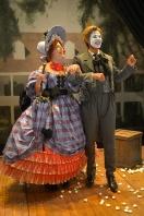 Dora (Jennifer Regan) and George (Lance Gardner). Photo by Kevin Berne for Berkeley Rep.