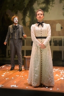 George (Lance Gardner) and Zoe (Sydney Morton). Photo by Kevin Berne for Berkeley Rep.
