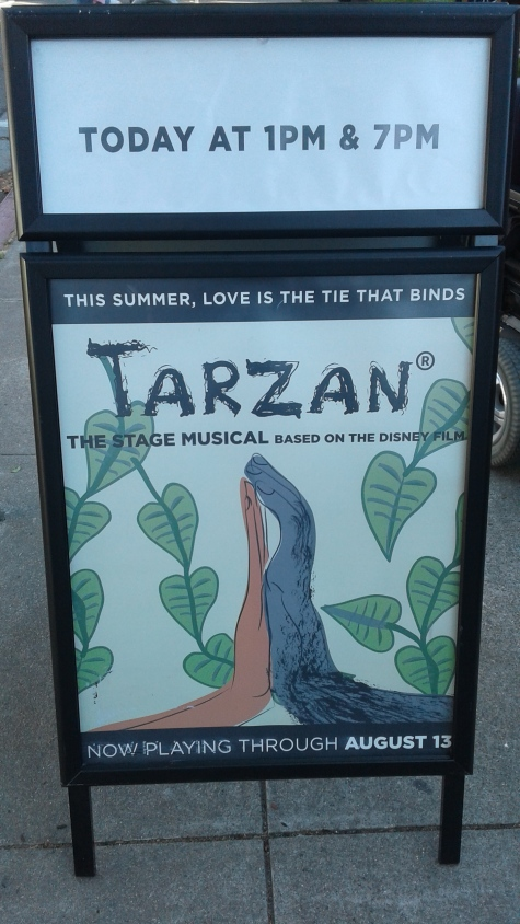 Tarzan the Musical at Berkeley Playhouse - 1