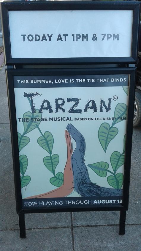 Tarzan the Musical at Berkeley Playhouse - 1