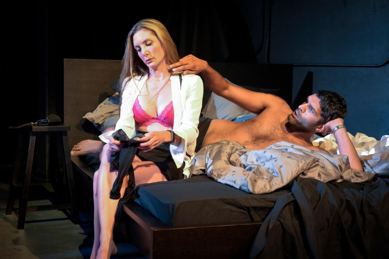 Tess (Heather Gordon) and Jason (Kunal Prasad). Photo by Alessandra Mello/mellophoto.com