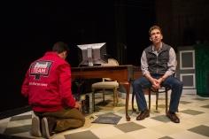 Josh Watson (Bradley Woolery) and Merrick (Mick Mize). Photo by Jessica Palopoli.