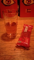The Late Night Snack is described in the text. I hate Twizzlers, but I still gave it a shot. Photo by Me.
