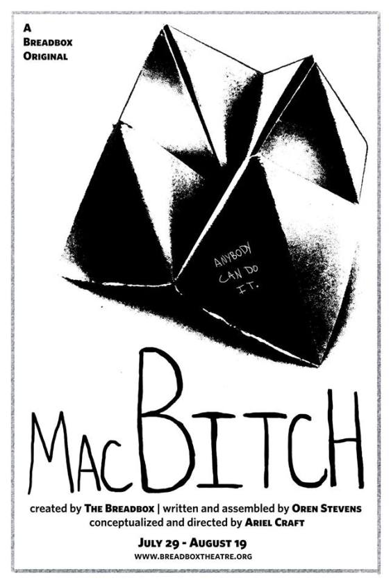MacBitch by The Breadbox poster