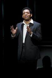 Otis Williams (Derrick Baskin). Photo by Kevin Berne.