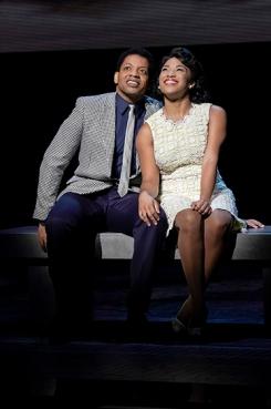 Otis (Derrick Baskin) and Josephine Williams (Rashidra Scott). Photo by Kevin Berne.