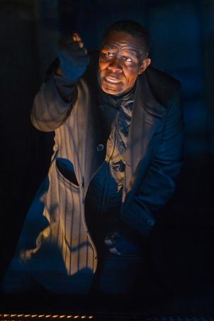 John Douglas Thompson as Hamlet. Photo by Kevin Berne.