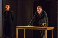 Escalus (Tristan Cunningham) and Angelo (David Graham Jones). Photo by rr jones.