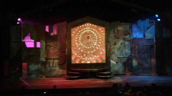 Sister Act at Berkeley Playhouse set
