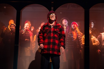 Ralphie (Jonah Broscow) has only one wish for Christmas. Photo by Jessica Palopoli.