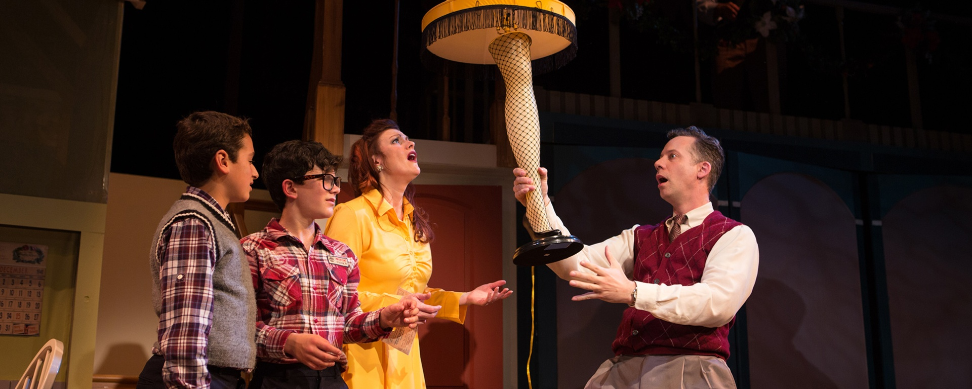 A Christmas Story Musical.Same Old Story A Christmas Story The Musical At Sf