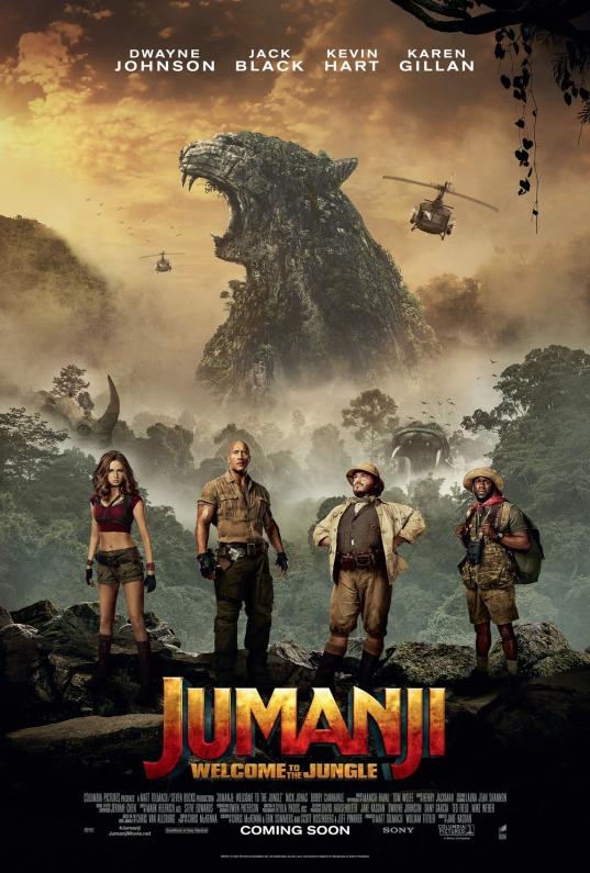 Jumanji - Welcome to the Jungle - poster