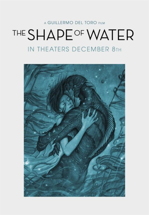 The Shape of Water - poster